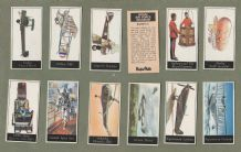 Collectable Trade cards set Royal Air force, Vickers, spitfire, airship